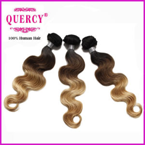Ombre Color Human Virgin Remy Hair pictures & photos