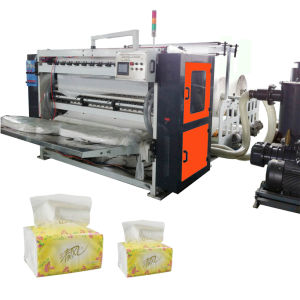 Soft Drawn Facial Tissues Paper Converting Making Machine pictures & photos