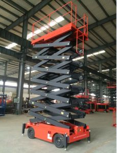 Lifting Height 6-16m Electric Scissor Lift Platform with CE Certificate pictures & photos