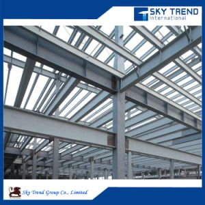 Customized Prefabricated Steel Frame Construction Workshop pictures & photos