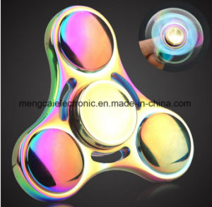 Spinning Top Toy, UFO Tri Finger Fidget Spinner