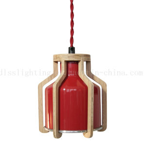Creative Simple Wood Art Coffee Shop Restaurant Pendant Lamp with Ce Certification pictures & photos