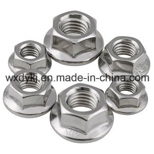 Stainless Steel Hex Washer Head Flange Bolt and Nut
