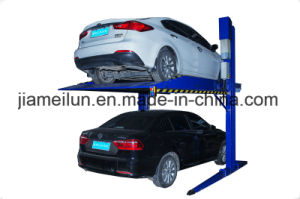 Ce Hydraulic Two Post Car Parking Lift, Double Layer Hydraulic Parking Lift