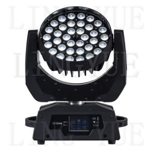 36X18W Stage Zoom Beam LED Moving Head Wash pictures & photos