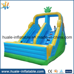 Commercial Inflatable Giant Slide, Inflatable Jumping Slide for Sale