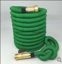 Quality Source Products Double Latex Core Fabric Expandable Garden Hose, Platinum, 25-Feet pictures & photos