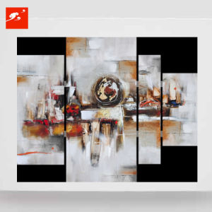 Abstract Geometric Blocks Oil Painting Set