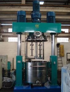 Blending Tank, View Blending Machine Dispersing Power Mixer for Silicone Sealant, Rubber, Resin pictures & photos