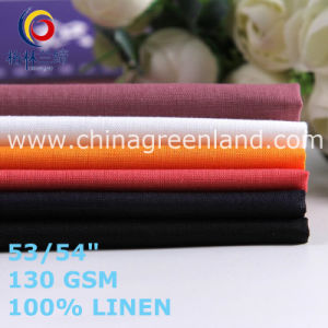 Solid Linen Fabric for Man′s T-Shirts Garments (GLLML464) pictures & photos