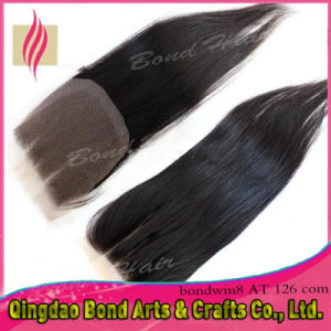 Brazilian Virgin Remy Human Hair Lace Closure pictures & photos