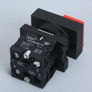 Square Push Button Switch, Red, Green Color pictures & photos