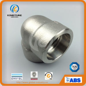 ASME B16.11 Stainless Steel Sw elbow (KT0555) pictures & photos