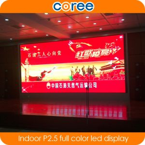 Indoor High Definition SMD P2.5 Full Color LED Screen pictures & photos