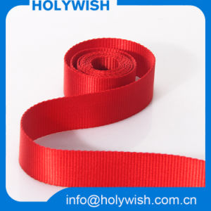 Red Grosgrain Belt Clothing Ribbon with Custom Printed