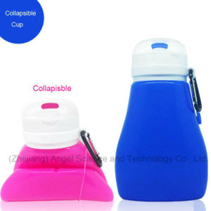 Wholesale Silicone Mug for Travel 450ml Scu05