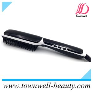 Townwell Brand Professional Hair Salon Equipments Ceramic Hair Straightener Comb