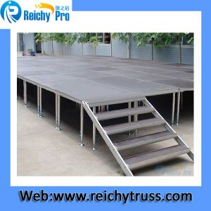 Aluminum Stage Simple Stage Aluminum Frame Stage pictures & photos