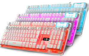 High Class Wired Backlighting Keyboard M300W pictures & photos