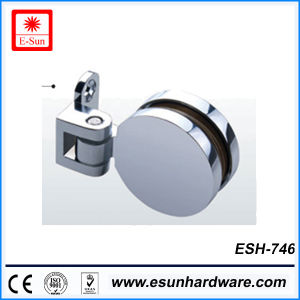 Hot Designs Round Shape Glass Door Hinge (ESH-746) pictures & photos
