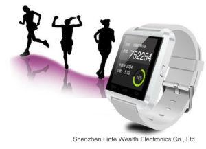 Cheap Bluetooth Android Smartwatch Dual SIM Smart Watch U8 2015 Ce RoHS U8  Smart Watch