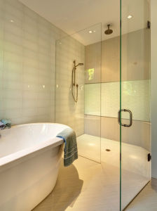 Tempered Glass Bathroom Shower Rooms/Shower Enclosure pictures & photos