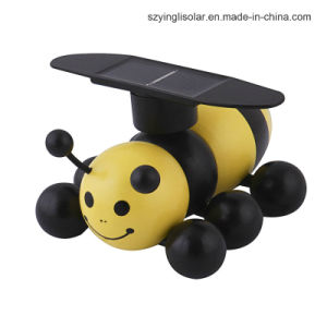 Solar Energy Powered Wooden Bee Szyl-St-02 pictures & photos