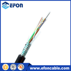 Steel Armoured Optical Fiber Cable/Outdoor Singlemode Cable12core pictures & photos