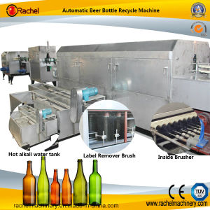 Automatic Wine Bottle High Pressure Cleaner Equipment pictures & photos