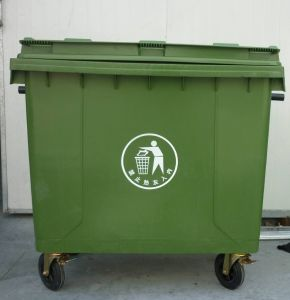 Ultrastrong Plastic Outdoor Waste Bin pictures & photos