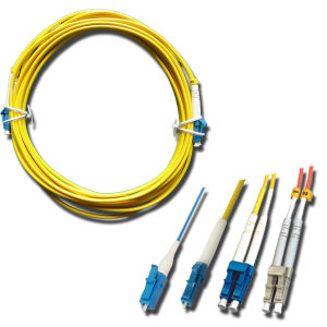 LC/PC Singlemode Multimode Fiber Optic Patchcord pictures & photos