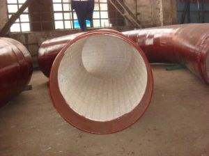 92% Alumina Ceramic Engineering Tile for Bend Pipes pictures & photos
