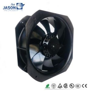 UL Certified Silver 115V 8inch 225X225X80mm 600 Cfm Metal Blade Axial Fan Fj22081mab pictures & photos