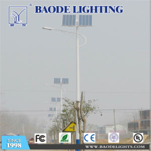 12m100W Solar LED Street Lamp with Coc Certificate pictures & photos