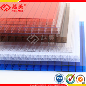 Virgin Material PC Sheet Polycarbonate Solid Hollow Corrugated Sheet pictures & photos