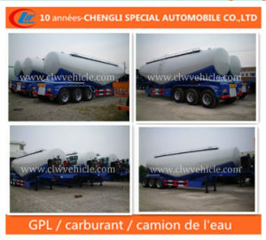 45cbm Ciment En Vrac Semi-Remorque Semi Trailer pictures & photos