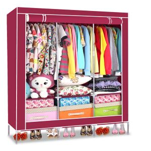 New Fashion Folding Cheap Wardrobe