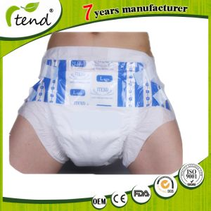 Cheapest Disposable Super Absorption Adult Diapers From China Manufacturer PP Type L Size