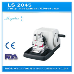 Longshou Factory Direct Fully-Mechanical Microtome Ls-2045 pictures & photos