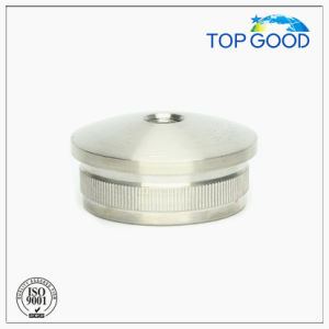 Stainless Steel Arc Solid End Cap with Thread (60110. M8)
