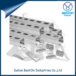 Strut Channel Slotted Angle Steel Channel pictures & photos