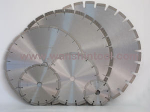 Laser Diamond Saw Blades for Concrete Asphalt pictures & photos