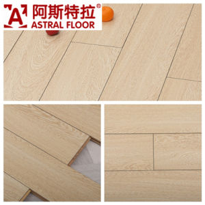 4 Side with Bevel Edged Wenge Laminate Flooring/ (AN1901) pictures & photos