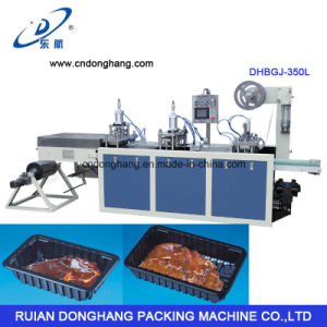PS Food Box Making Machine (DHBGJ-350L) pictures & photos