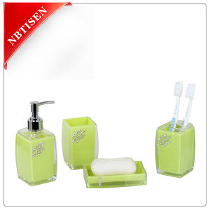 Hot Acrylic/Plastic Bathroom Accessories Set (TS8016-4)