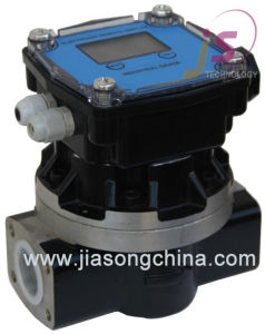 Aluminum Oval Gear Electric Digital Flow Meter pictures & photos