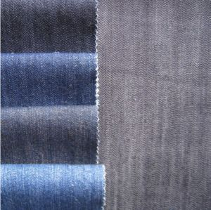 100% Cotton Slub Denim Fabric for Jeans and Jackets pictures & photos