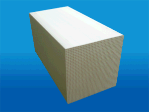 Ceramics Monolith Heater Honeycomb Ceramic Substrate Heater pictures & photos