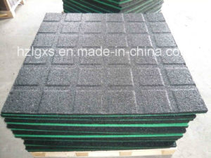 Rubber Carpet Rubber Floor Tile for Gym Ground pictures & photos