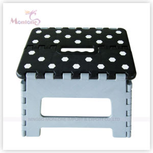 29*22*22cm Sturdy Plastic Mixed Color Foldable Stool pictures & photos